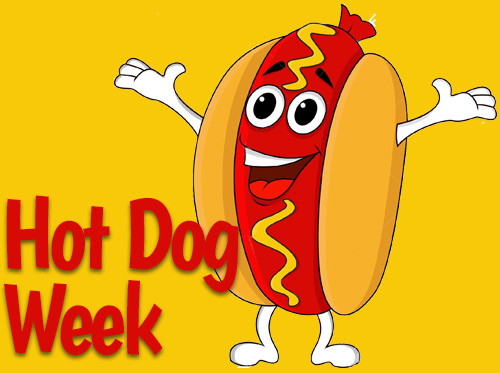 news hot dog week